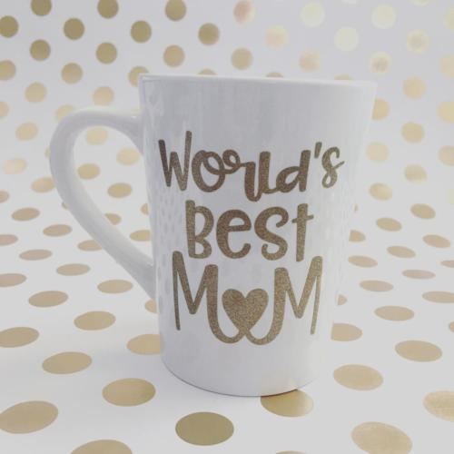 world's best mom coffee mug