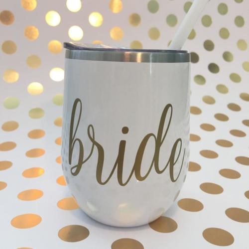 bride stainless wine tumbler