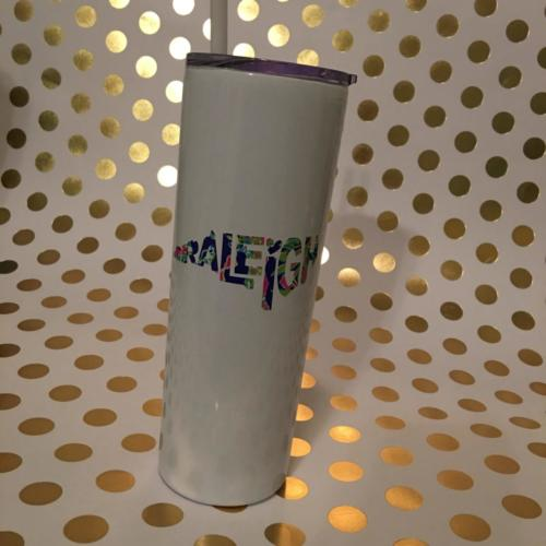 Raleigh NC stainless tumbler