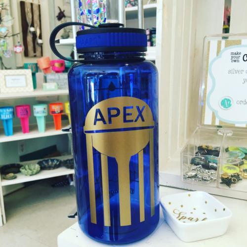 Apex NC water bottle