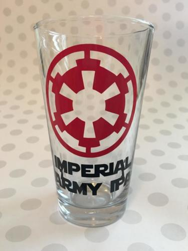 Imperial Army IPA pint glass