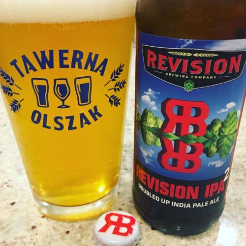 Tawerna Olszak custom personalized pint glass beer