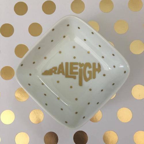 Raleigh NC jewelry dish North Carolina