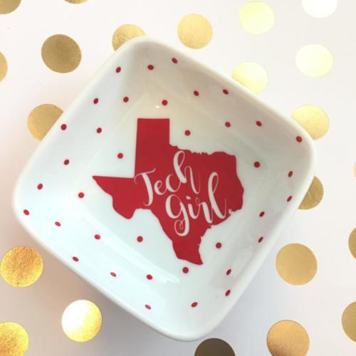TX Tech jewelry dish