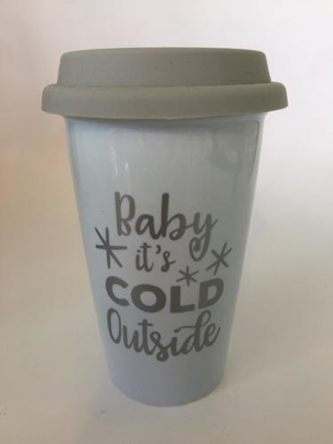 baby its cold outside travel mug