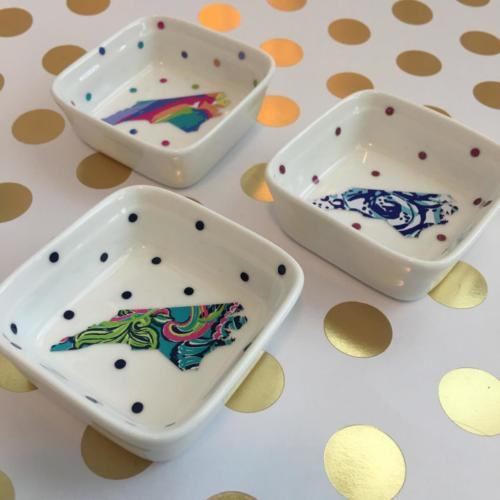 mini NC jewelry dishes